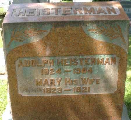 HEISTERMAN, ADOLPH - Montgomery County, Ohio | ADOLPH HEISTERMAN - Ohio Gravestone Photos