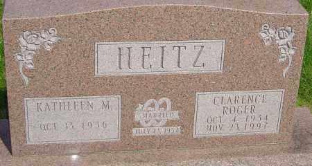 HEITZ, CLARENCE ROGER - Montgomery County, Ohio | CLARENCE ROGER HEITZ - Ohio Gravestone Photos