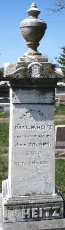 HEITZ, DANIEL W. - Montgomery County, Ohio | DANIEL W. HEITZ - Ohio Gravestone Photos