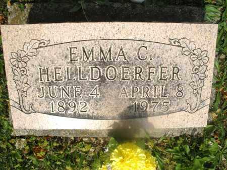 HELLDOERFER, EMMA C. - Montgomery County, Ohio | EMMA C. HELLDOERFER - Ohio Gravestone Photos
