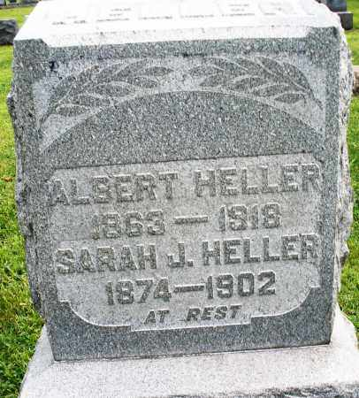 HELLER, ALBERT - Montgomery County, Ohio | ALBERT HELLER - Ohio Gravestone Photos