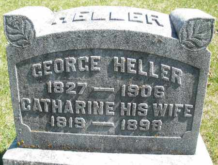HELLER, CATHARINE - Montgomery County, Ohio | CATHARINE HELLER - Ohio Gravestone Photos