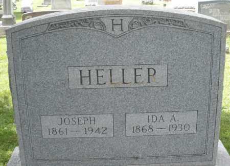 HELLER, IDA A. - Montgomery County, Ohio | IDA A. HELLER - Ohio Gravestone Photos