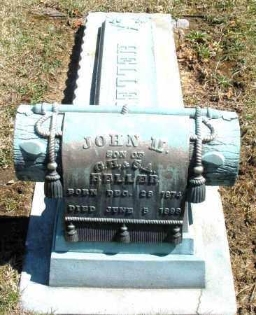 HELLER, JOHN M. - Montgomery County, Ohio | JOHN M. HELLER - Ohio Gravestone Photos