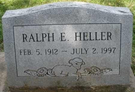 HELLER, RALPH E. - Montgomery County, Ohio | RALPH E. HELLER - Ohio Gravestone Photos