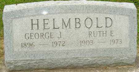 HELMBOLD, GEORGE J - Montgomery County, Ohio | GEORGE J HELMBOLD - Ohio Gravestone Photos