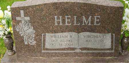 HELME, WILLIAM B - Montgomery County, Ohio | WILLIAM B HELME - Ohio Gravestone Photos