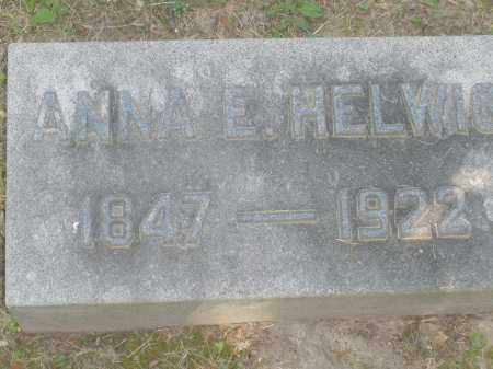 HELWIG, ANNA E. - Montgomery County, Ohio | ANNA E. HELWIG - Ohio Gravestone Photos
