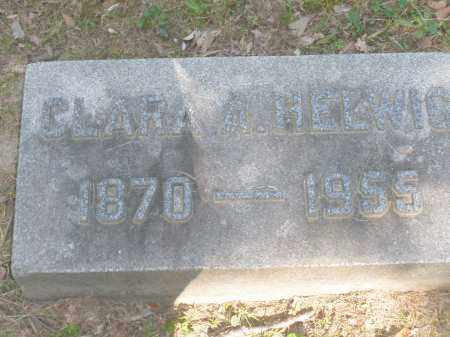 HELWIG, CLARA A. - Montgomery County, Ohio | CLARA A. HELWIG - Ohio Gravestone Photos