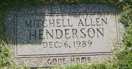 HENDERSON, MITCHELL ALLEN - Montgomery County, Ohio | MITCHELL ALLEN HENDERSON - Ohio Gravestone Photos