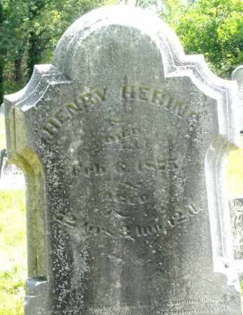 HERING, HENRY - Montgomery County, Ohio | HENRY HERING - Ohio Gravestone Photos