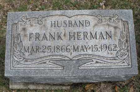 HERMAN, FRANK - Montgomery County, Ohio | FRANK HERMAN - Ohio Gravestone Photos