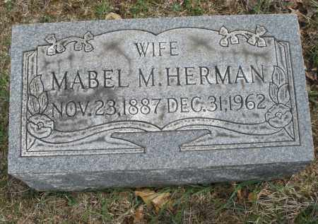HERMAN, MABEL M. - Montgomery County, Ohio | MABEL M. HERMAN - Ohio Gravestone Photos