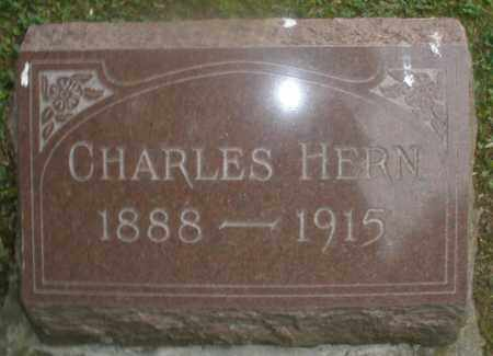 HERN, CHARLES - Montgomery County, Ohio | CHARLES HERN - Ohio Gravestone Photos