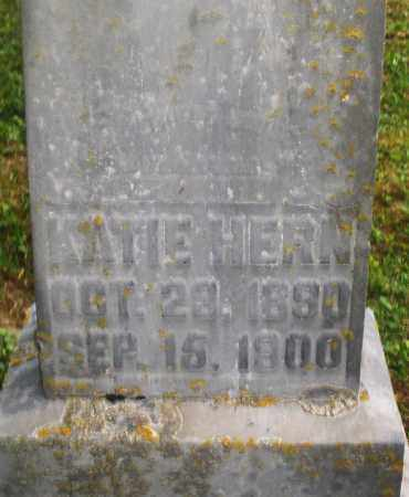 HERN, KATIE - Montgomery County, Ohio | KATIE HERN - Ohio Gravestone Photos