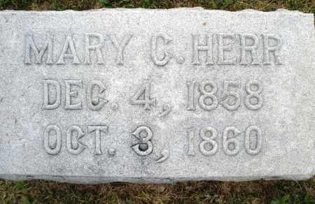 HERR, MARY C. - Montgomery County, Ohio | MARY C. HERR - Ohio Gravestone Photos