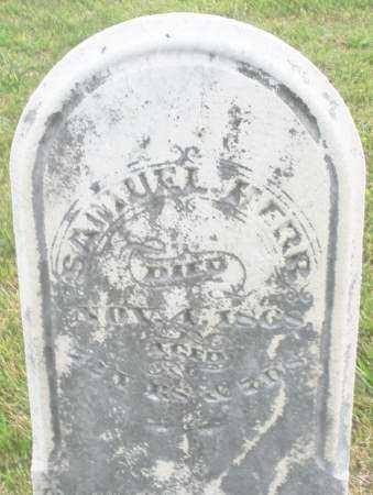 HERR, SAMUEL - Montgomery County, Ohio | SAMUEL HERR - Ohio Gravestone Photos