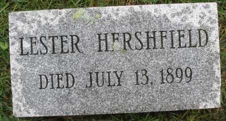 HERSHFIELD, LESTER - Montgomery County, Ohio | LESTER HERSHFIELD - Ohio Gravestone Photos