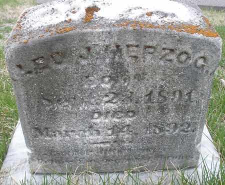 HERZOG, LEO J. - Montgomery County, Ohio | LEO J. HERZOG - Ohio Gravestone Photos