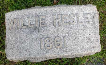 HESLEY, WILLIE - Montgomery County, Ohio | WILLIE HESLEY - Ohio Gravestone Photos