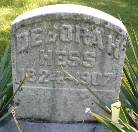 HESS, DEBORAH - Montgomery County, Ohio | DEBORAH HESS - Ohio Gravestone Photos