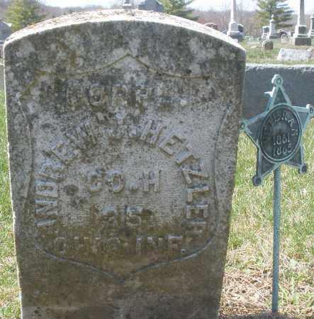 HETZLER, ANDREW J. - Montgomery County, Ohio | ANDREW J. HETZLER - Ohio Gravestone Photos