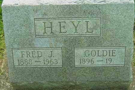 HEYL, GOLDIE - Montgomery County, Ohio | GOLDIE HEYL - Ohio Gravestone Photos