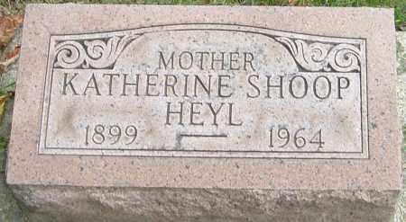 SHOOP HEYL, KATHERINE - Montgomery County, Ohio | KATHERINE SHOOP HEYL - Ohio Gravestone Photos