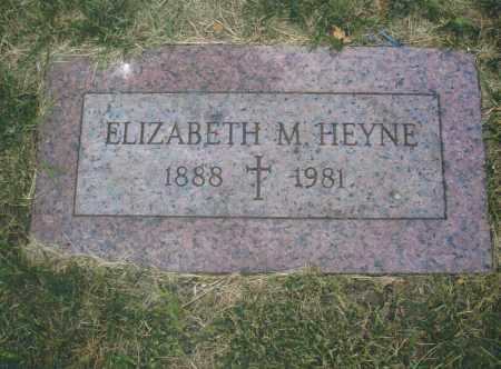 HEYNE, ELIZABETH M. - Montgomery County, Ohio | ELIZABETH M. HEYNE - Ohio Gravestone Photos