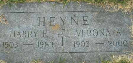 HEYNE, HARRY F. - Montgomery County, Ohio | HARRY F. HEYNE - Ohio Gravestone Photos