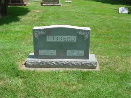 HIBBERD, MARTHA - Montgomery County, Ohio | MARTHA HIBBERD - Ohio Gravestone Photos