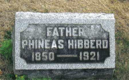 HIBBERD, PHINEAS - Montgomery County, Ohio | PHINEAS HIBBERD - Ohio Gravestone Photos