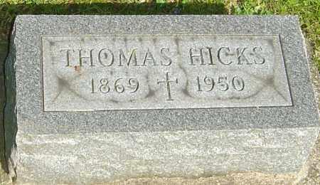 HICKS, THOMAS - Montgomery County, Ohio   THOMAS HICKS - Ohio Gravestone Photos