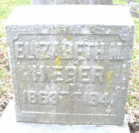 HIEBER, ELIZABETH M. - Montgomery County, Ohio | ELIZABETH M. HIEBER - Ohio Gravestone Photos