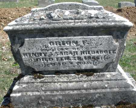 HILDABOET, ORIAN F. - Montgomery County, Ohio | ORIAN F. HILDABOET - Ohio Gravestone Photos