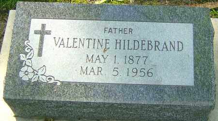 HILDEBRAND, VALENTINE - Montgomery County, Ohio | VALENTINE HILDEBRAND - Ohio Gravestone Photos