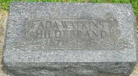 HILDERBRAND, ADA FRANCES - Montgomery County, Ohio | ADA FRANCES HILDERBRAND - Ohio Gravestone Photos