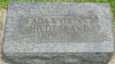 WATKINS HILDERBRAND, ADA FRANCES - Montgomery County, Ohio | ADA FRANCES WATKINS HILDERBRAND - Ohio Gravestone Photos
