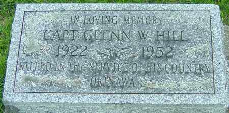 HILL, GLENN W - Montgomery County, Ohio | GLENN W HILL - Ohio Gravestone Photos