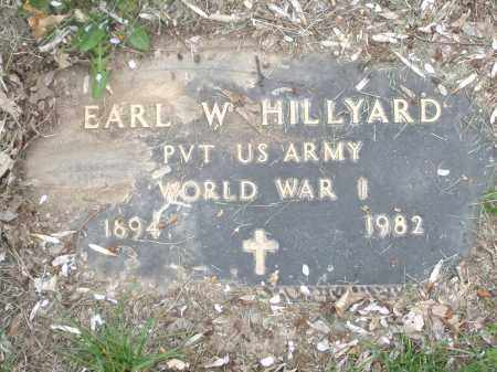 HILLYARD, EARL W. - Montgomery County, Ohio | EARL W. HILLYARD - Ohio Gravestone Photos
