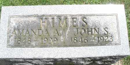 HIMES, AMANDA A. - Montgomery County, Ohio | AMANDA A. HIMES - Ohio Gravestone Photos