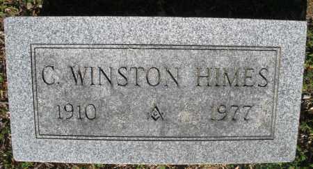 HIMES, C. WINSTON - Montgomery County, Ohio | C. WINSTON HIMES - Ohio Gravestone Photos