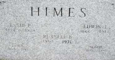 HIMES, RUSSELL B. - Montgomery County, Ohio | RUSSELL B. HIMES - Ohio Gravestone Photos