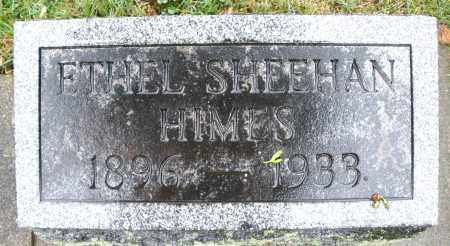 SHEEHAN HIMES, ETHEL - Montgomery County, Ohio | ETHEL SHEEHAN HIMES - Ohio Gravestone Photos