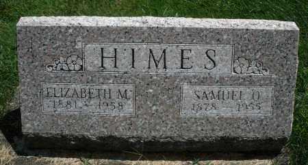 HIMES, SAMUEL O. - Montgomery County, Ohio | SAMUEL O. HIMES - Ohio Gravestone Photos