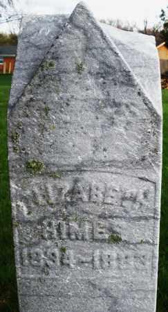 HIMES, ELIZABETH - Montgomery County, Ohio | ELIZABETH HIMES - Ohio Gravestone Photos