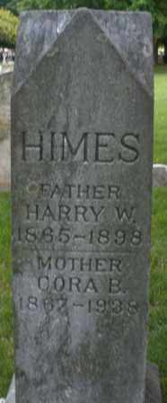HIMES, HARRY W. - Montgomery County, Ohio | HARRY W. HIMES - Ohio Gravestone Photos