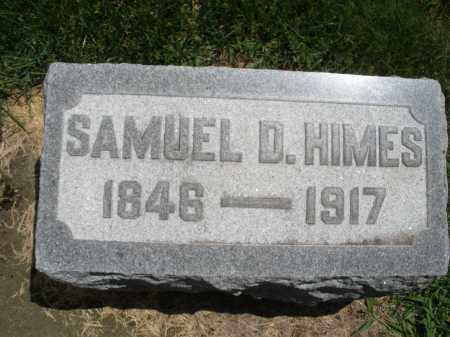 HIMES, SAMUEL D. - Montgomery County, Ohio | SAMUEL D. HIMES - Ohio Gravestone Photos