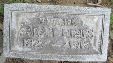 HIMES, SARAH - Montgomery County, Ohio | SARAH HIMES - Ohio Gravestone Photos