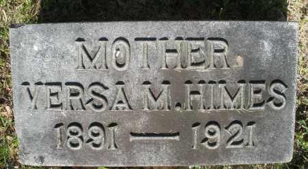 HIMES, VERSA M. - Montgomery County, Ohio | VERSA M. HIMES - Ohio Gravestone Photos